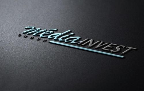 Дизайн логотипа Media Invest