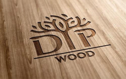 Дизайн логотипа Dip Wood